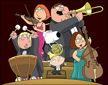 Family guy sings