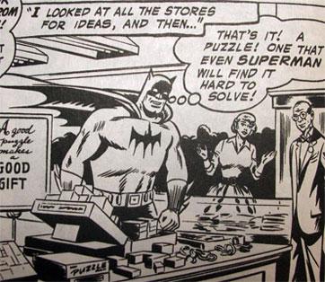 Batman shopping