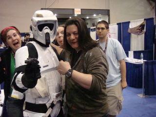 Me & stormtrooper ryan