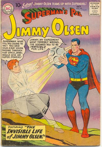 Invisible jimmy olsen