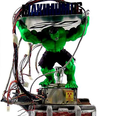 Hulk smash computer