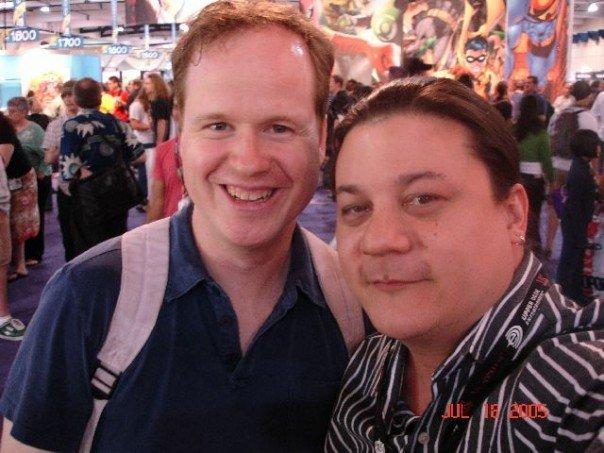 Joss whedon, me SDCC 05