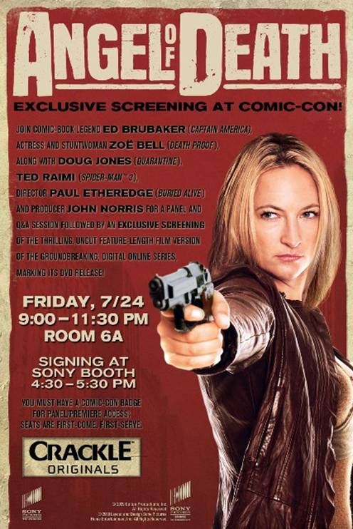 Zoe bell angel of death