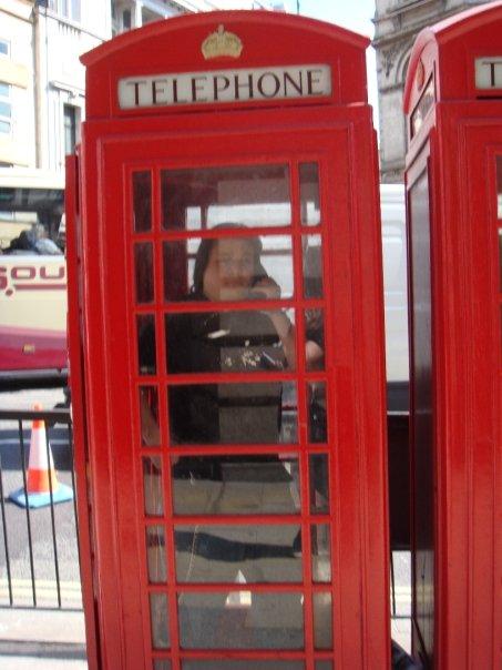 Me phone box london