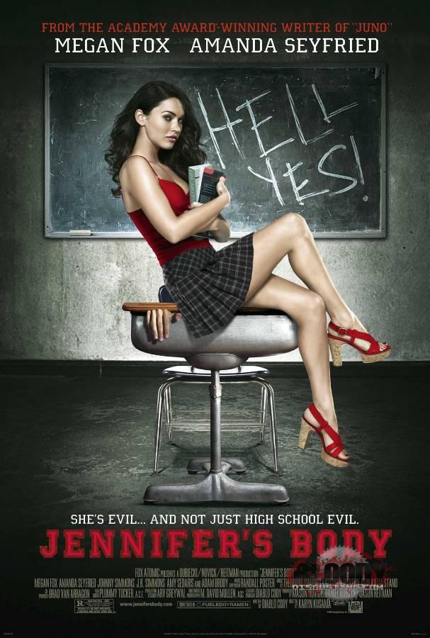 Megan-fox-school-girl-jennifers-body-poster