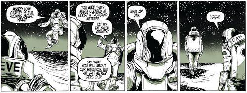 The loneliest astronauts 1