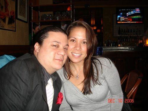 Me, sis on my bday 06
