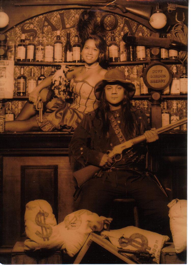 Me, sis old western