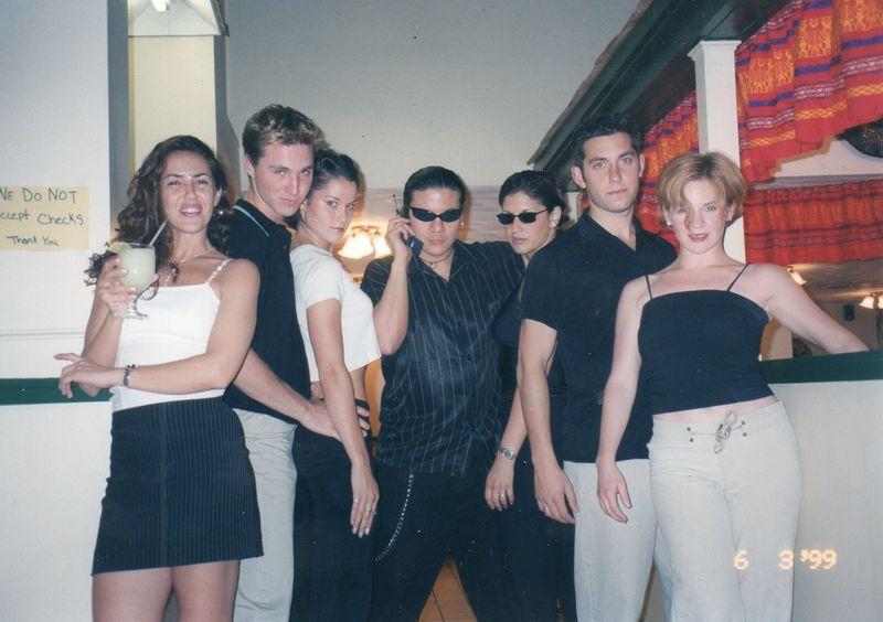 West Side Story 99- Samie, Jesse, Jen, me, Michelle, Nate, Deb