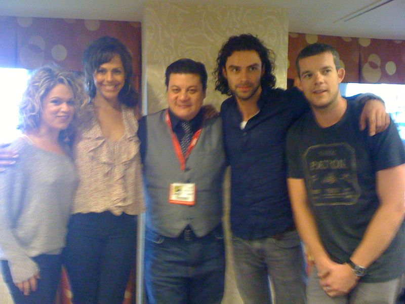Being Human cast & me
