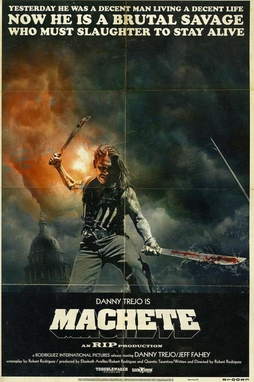 Poster-machette