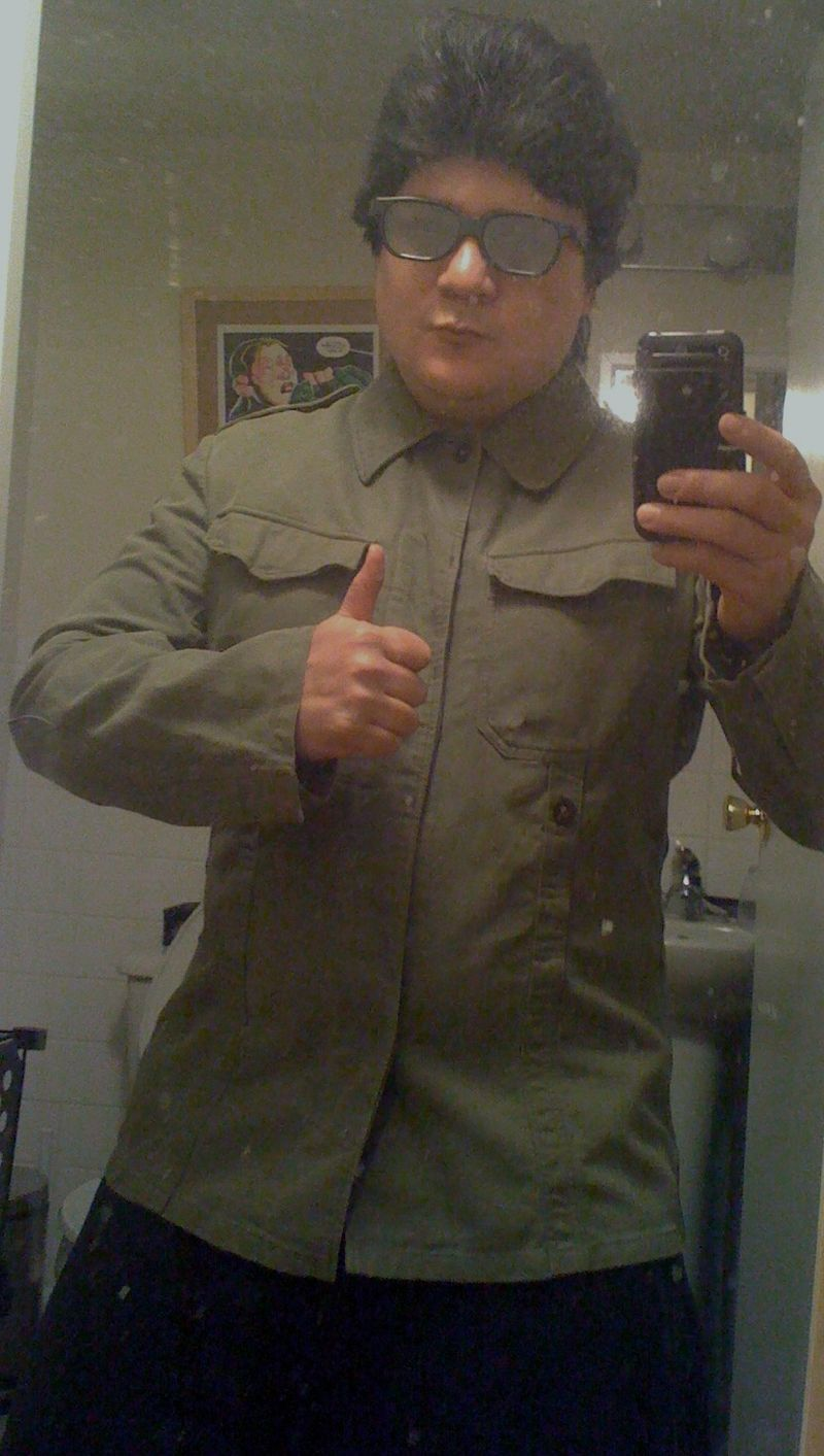 Me as kim jong-il - Copy