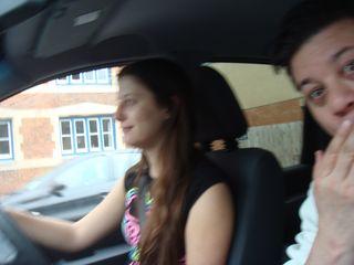 Emma driving 2