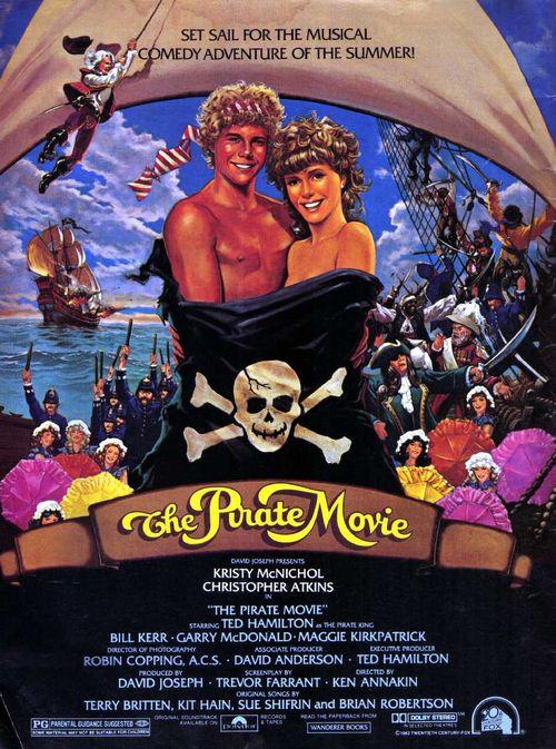 Pirate movie poster