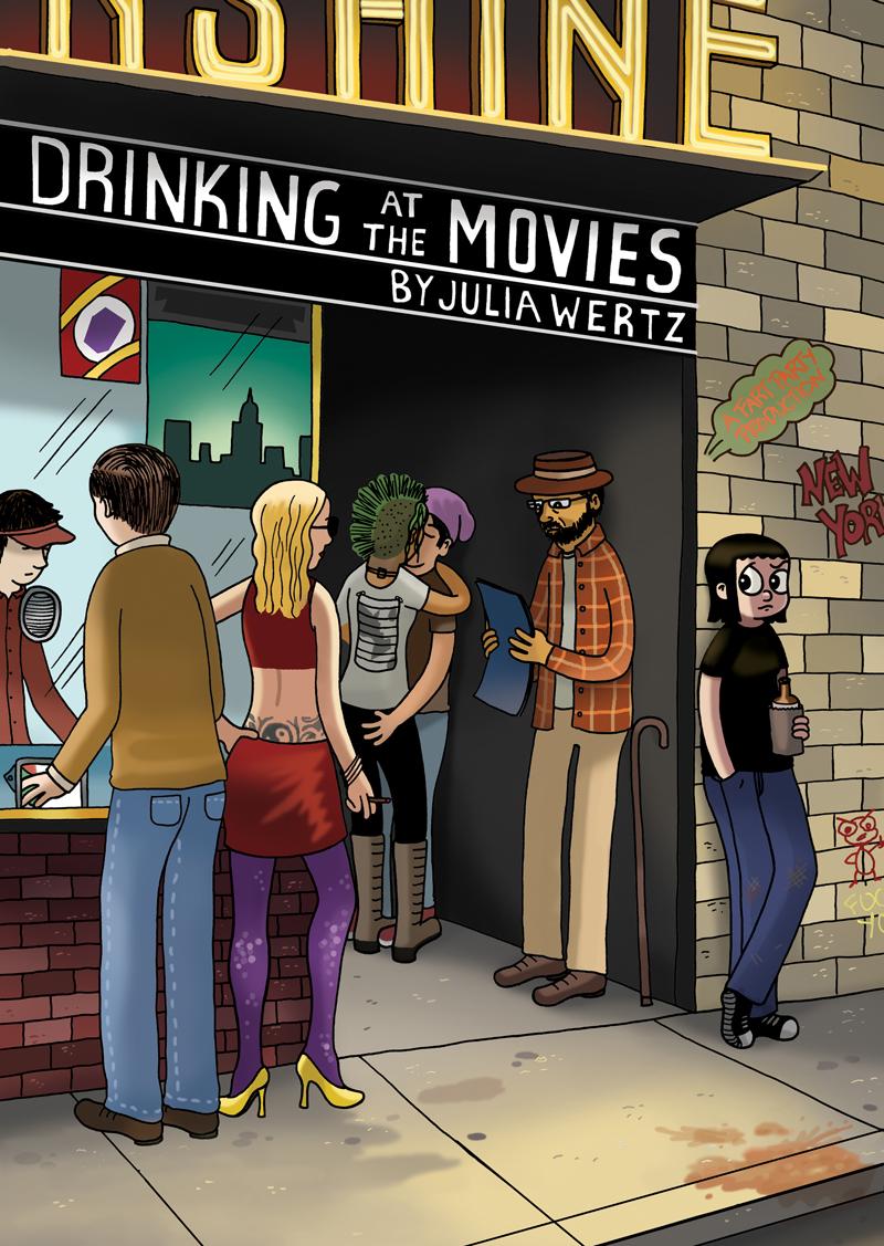 Drinking at the movies julia wertz2
