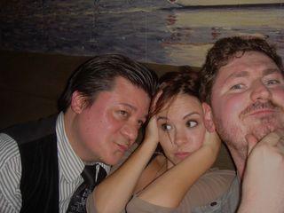 Marvel Party - Me, Brea Grant, Ben McCool