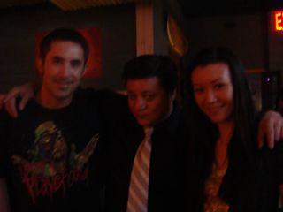 Dead Dog Party- Chris Chen, Me, Maria Bernal-Silva