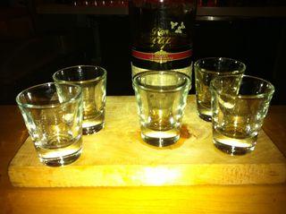 Bday shots