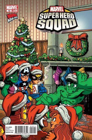 Superhero squad xmas