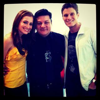 Candace Bailey, me, Kevin Pereira