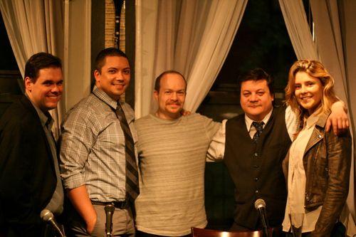 CNI 400 crew - Kevin Conn, Jon Hoche, Joe Gonzalez, me, Grace Helbig