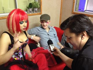 Me interviewing f&m