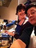 Siobhan, me baking