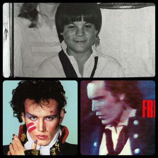 Adam ant collage