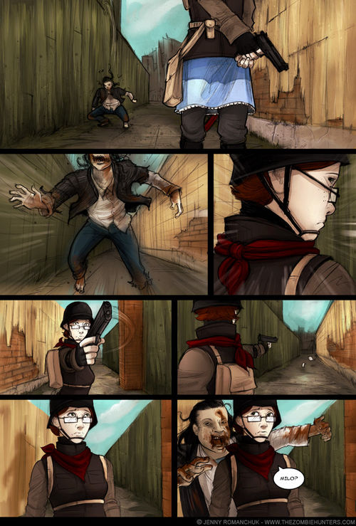 The zombie hunters - chapter 5 - page 133