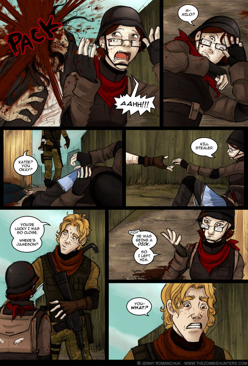 The zombie hunters - chapter 5 - page 134
